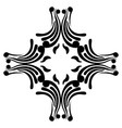 isolated arabesque pattern vector image