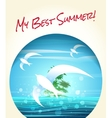 My Best Summer vector image vector image