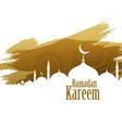 ramadan kareem abstract style background
