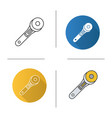 rotary cutter icon vector image