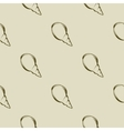 sea shell seamless pattern brown tones vector image vector image