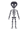skeletone line icon sign on vector image vector image