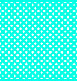 turquoise mesh pattern vector image vector image