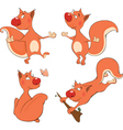 The squirrels clip art vector image