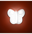 Abstract Paper Butterfly vector image