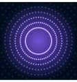 Blue Abstract Background with Lens Flare Dotted vector image vector image