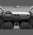 car interior automobile realistic salon info