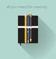 Creativity tools vector image vector image