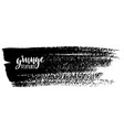 ink brush strokes vector image vector image