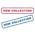 New Collection Rubber Stamps vector image vector image