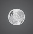 pearl sketch logo doodle icon vector image vector image