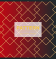 seamless linear pattern with thin poly lines and vector image vector image