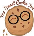 Smart Cookie vector image vector image