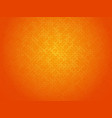 abstract orange linking dots background vector image vector image