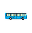 bus transport for transportation of people vector image