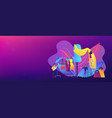 fashion industry concept banner header vector image vector image