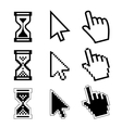 icon cursor of mouse vector image vector image