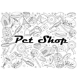 Pit shop coloring book vector image vector image