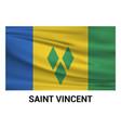 saint vincent flags design vector image