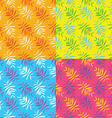 Seamless summer patterns vector image vector image