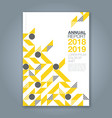 cover annual report 1084 vector image vector image