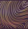 gold waves template design black paper background vector image vector image