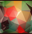 modern beautiful green red brown yellow vector image vector image