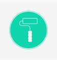 paint roller icon sign symbol vector image vector image