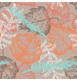 Seamless pattern with autumn leafs vector image vector image