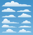 Set of clouds vector | Price: 3 Credits (USD $3)