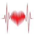 Srce impuls resize vector image