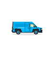 van commercial transport transport for cargo vector image