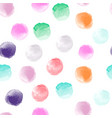 watercolor set colorful hand vector image