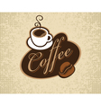 Coffee cup and grain vector | Price: 1 Credit (USD $1)