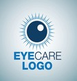 EYE CARE LOGO 11 vector image vector image