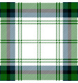 green and blue tartan plaid seamless pattern vector image vector image