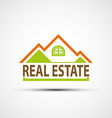 Logo real estate vector image vector image