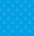 military jet pattern seamless blue vector image