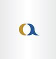 small a letter a logo icon element design symbol vector image vector image