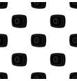 webcam icon in black style isolated on white vector image vector image