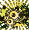 grunge festival vector image
