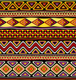 afrikan seamless ornament vector image vector image