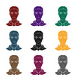 avatar of a man with red hairavatar and face vector image vector image