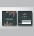 christmas abstract greeting gift card vector image vector image