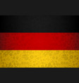 germany flag background for russian soccer event vector image