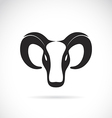 image an goat head vector image vector image
