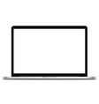 Laptops mock up with blank screen vector image vector image
