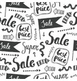 sale seamless doodle pattern best price vector image vector image