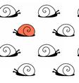 snailpat vector image vector image