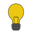 light bulb electricity vector image vector image